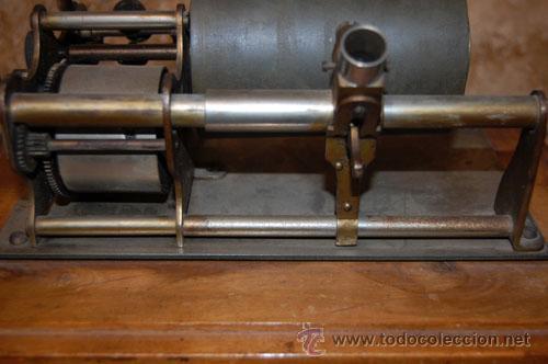 Gramófonos y gramolas: GRAMÓFONO FONÓGRAFO EMBLEMA EL GALLO - Foto 8 - 35025160