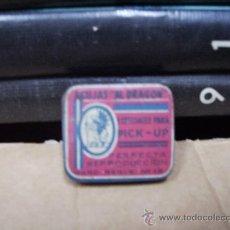Gramófonos y gramolas: ANTIGUA CAJA METALICA CON AGUJAS DE GRAMOLA. Lote 28593004