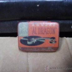 Gramófonos y gramolas: ANTIGUA CAJA METALICA CON AGUJAS DE GRAMOLA. Lote 28593292