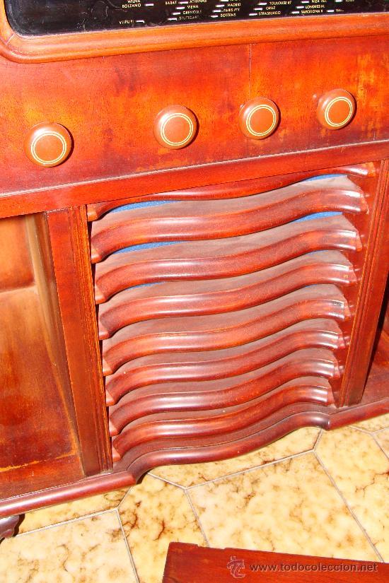 Gramófonos y gramolas: ANTIGUA Y PRECIOSA RADIO - GRAMOLA RESTAURADA PARCIALMENTE - Foto 5 - 30397337