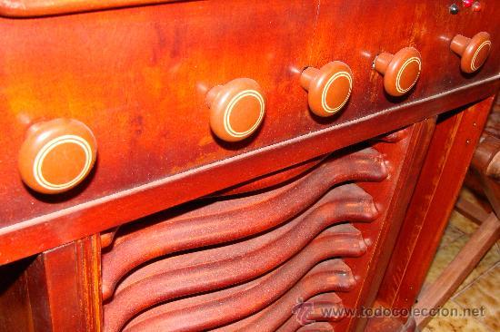 Gramófonos y gramolas: ANTIGUA Y PRECIOSA RADIO - GRAMOLA RESTAURADA PARCIALMENTE - Foto 8 - 30397337