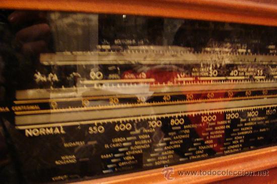 Gramófonos y gramolas: ANTIGUA Y PRECIOSA RADIO - GRAMOLA RESTAURADA PARCIALMENTE - Foto 12 - 30397337