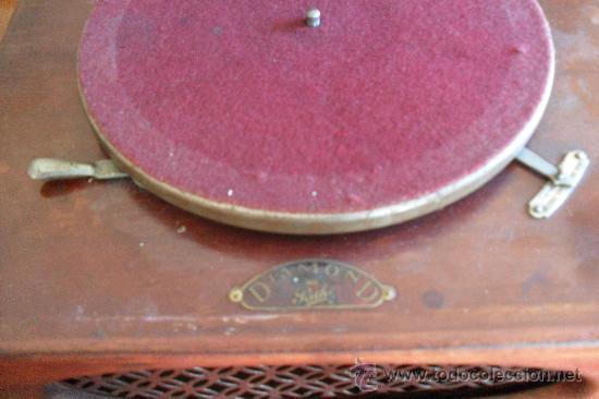 Gramófonos y gramolas: bonito gramofono Pathe con album de discos,la Voz de su amo - Foto 5 - 30806480