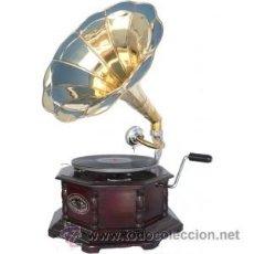 Gramófonos y gramolas: GRAN GRAMOLA GRAMOFONO ESTILO AÑOS 20 , RETRO VINTAGE. Lote 193855666