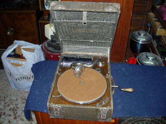 GRAMOLA SUPREMO FUNCIONANDO (Radios, Gramófonos, Grabadoras y Otros - Gramófonos y Gramolas)