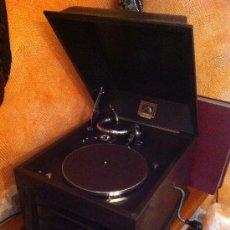Gramófonos y gramolas: EXCEPCIONAL GRAMOFONO, LA VOZ DE SU AMO, HIS MASTER´S VOICE Nº4, EN .. Lote 34609204