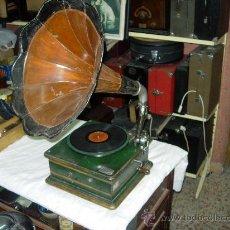 Gramófonos y gramolas: GRAMOFONO LA MAQUINA PARLANTE. Lote 36018350