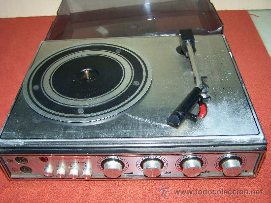 TOCADISCOS UNIVERSUM (Radios, Gramófonos, Grabadoras y Otros - Gramófonos y Gramolas)