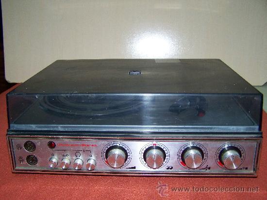 Gramófonos y gramolas: Tocadiscos Universum - Foto 2 - 36073792