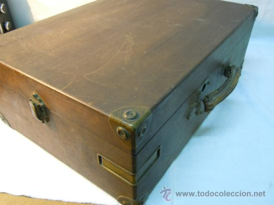 Gramófonos y gramolas: ANTIGUA GRAMOLA EN CAJA DE MADERA - Foto 6 - 36292210