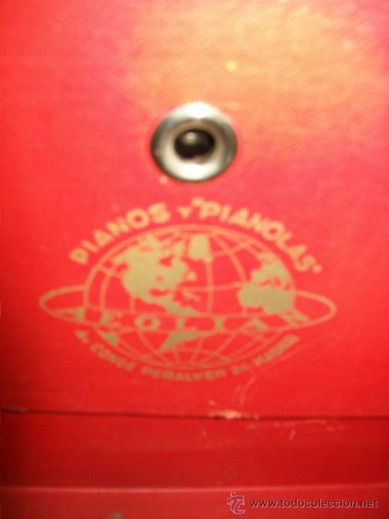 Gramófonos y gramolas: ANTIGUA GRAMOLA MALETA - PERFECTO FUNCIONAMIENTO - AEOLIAN - MADRID - 1920 - GRAMÓFONO TOCADISCOS - Foto 5 - 36384612