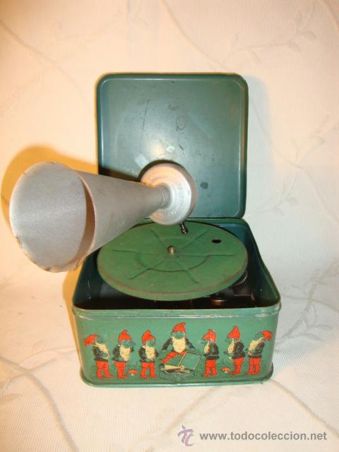 Gramófonos y gramolas: RARO GRAMOFONO GRAMOLA GRAMOPHONE PHONOGRAPHE PYGMEX ORIGINAL INFANTIL NIÑO JUGUETE 1928 FUNCIONA!!! - Foto 2 - 36697128