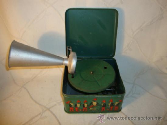 Gramófonos y gramolas: RARO GRAMOFONO GRAMOLA GRAMOPHONE PHONOGRAPHE PYGMEX ORIGINAL INFANTIL NIÑO JUGUETE 1928 FUNCIONA!!! - Foto 3 - 36697128