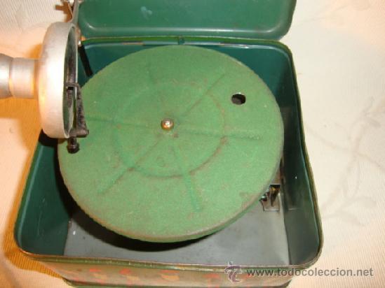 Gramófonos y gramolas: RARO GRAMOFONO GRAMOLA GRAMOPHONE PHONOGRAPHE PYGMEX ORIGINAL INFANTIL NIÑO JUGUETE 1928 FUNCIONA!!! - Foto 4 - 36697128