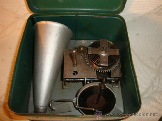 Gramófonos y gramolas: RARO GRAMOFONO GRAMOLA GRAMOPHONE PHONOGRAPHE PYGMEX ORIGINAL INFANTIL NIÑO JUGUETE 1928 FUNCIONA!!! - Foto 12 - 36697128