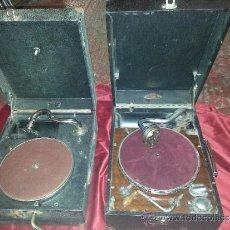 Gramófonos y gramolas: LOTE DE 2 DE GRAMOLAS. Lote 37807410
