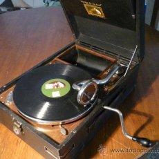 Gramófonos y gramolas: GRAMÓFONO LA VOZ DE SU AMO. Lote 182166745