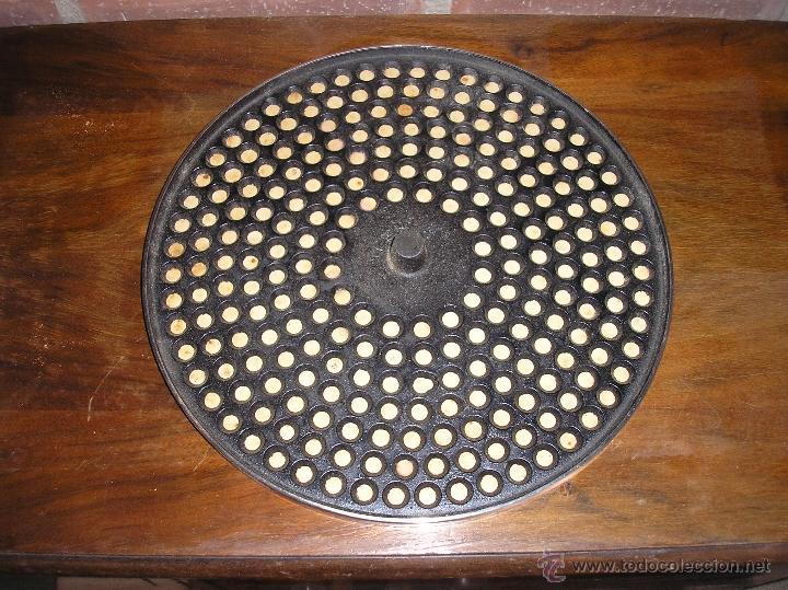 Gramófonos y gramolas: antiguo plato para GRAMOFONO - año 1920 - Foto 2 - 39380580