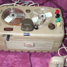 Gramófonos y gramolas: MAGNETOFON O GRABADORA GELOSO G-255 PARA REPARAR PRECIOSO DE 1955. Lote 39545832