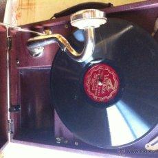 Gramófonos y gramolas: GRAMOLA- LA VOZ DE SU AMO. Lote 53796896
