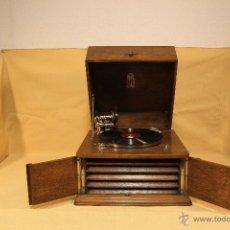 Gramófonos y gramolas: GRAMOFONO SOBREMESA -MARCA ODEONETTE--AÑOS 30-. Lote 111419298