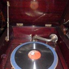 Gramófonos y gramolas: GRAMOFONO DE GRAN SALON. Lote 36941470