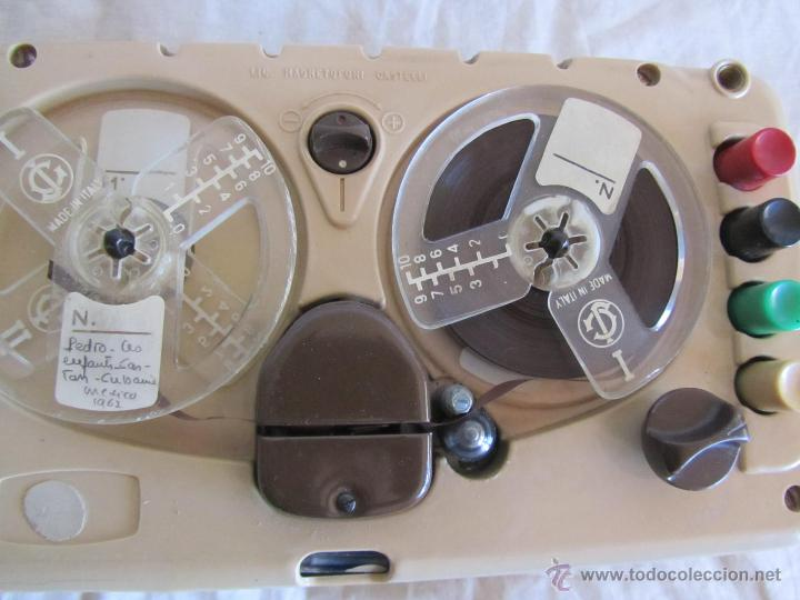 Gramófonos y gramolas: Magnetófono italiano Geloso, años 50. - Foto 5 - 197564352