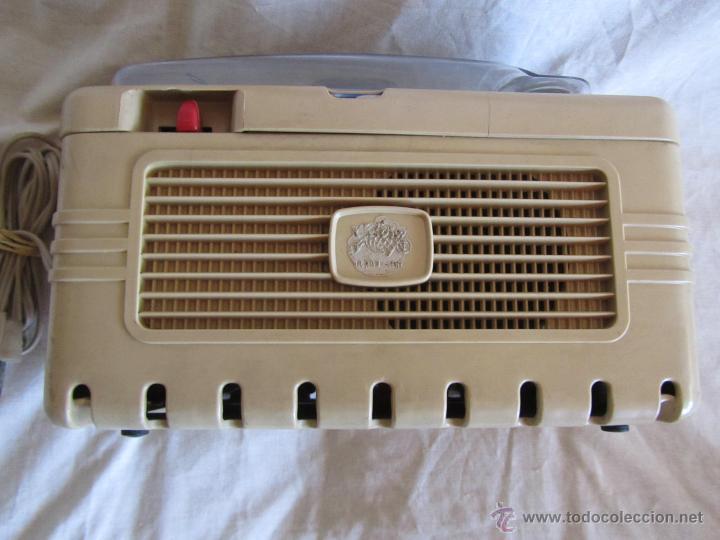 Gramófonos y gramolas: Magnetófono italiano Geloso, años 50. - Foto 6 - 197564352