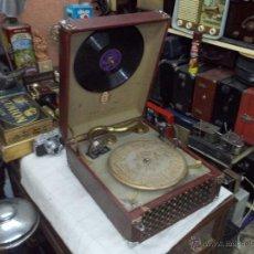 Gramófonos y gramolas: GRAMOLA ODEON FUNCIONANDO. Lote 43909205