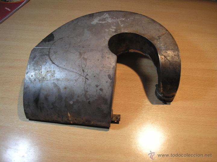 Gramófonos y gramolas: antiguo Cornete metalico PARA GRAMOFONO- AÑO 1920- EN METAL - Foto 2 - 44059391