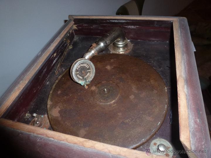 Gramófonos y gramolas: gramono para restaurar - Foto 2 - 44139494