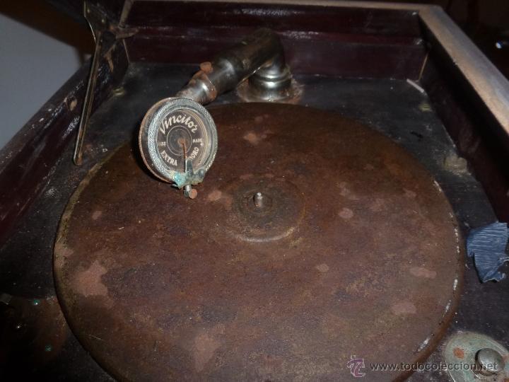 Gramófonos y gramolas: gramono para restaurar - Foto 3 - 44139494