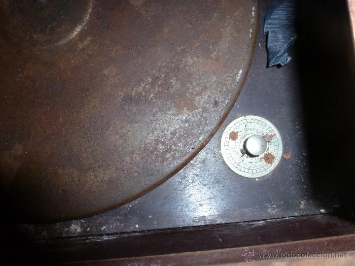 Gramófonos y gramolas: gramono para restaurar - Foto 4 - 44139494