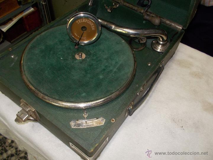 Gramófonos y gramolas: Gramola Telefunken funcionando - Foto 16 - 44178979