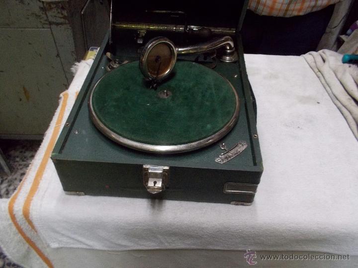 Gramófonos y gramolas: Gramola Telefunken funcionando - Foto 17 - 44178979