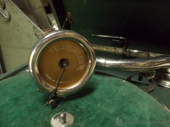Gramófonos y gramolas: Gramola Telefunken funcionando - Foto 20 - 44178979