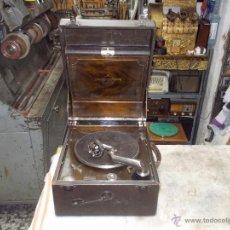 Gramófonos y gramolas: GRAMOLA COLUMBIA FUNCIONANDO. Lote 44338439