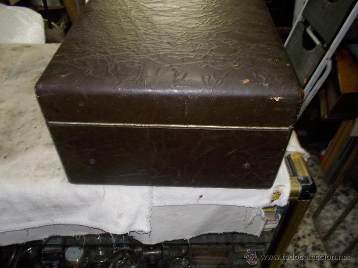 Gramófonos y gramolas: Gramola Columbia Funcionando - Foto 5 - 44338439