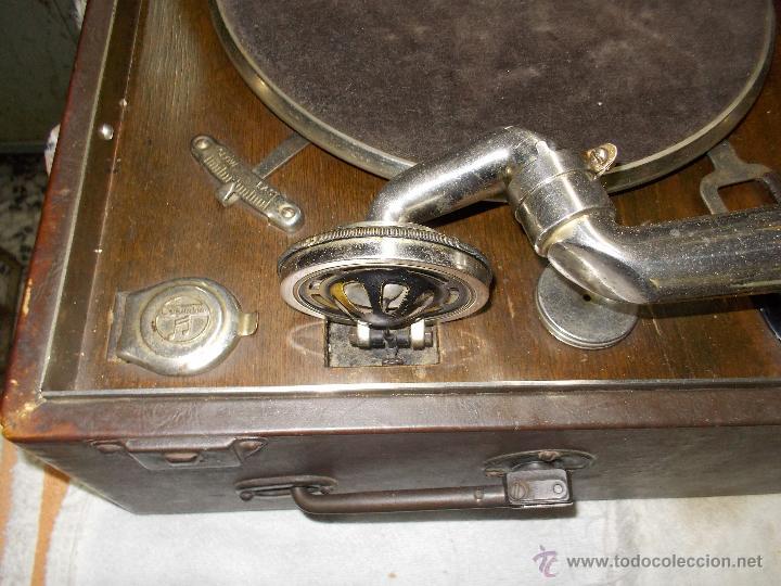 Gramófonos y gramolas: Gramola Columbia Funcionando - Foto 21 - 44338439