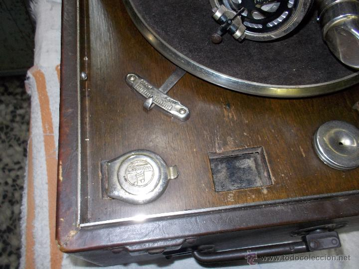 Gramófonos y gramolas: Gramola Columbia Funcionando - Foto 22 - 44338439