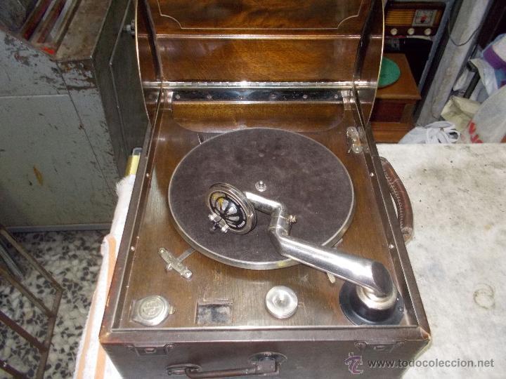 Gramófonos y gramolas: Gramola Columbia Funcionando - Foto 25 - 44338439