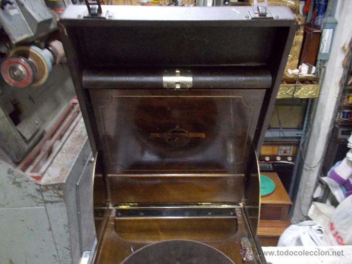 Gramófonos y gramolas: Gramola Columbia Funcionando - Foto 30 - 44338439