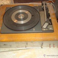 Gramófonos y gramolas: ANTIGUO TOCADISCOS DE LOS AÑOS 60 CON ALTAVOCES. Lote 45380212