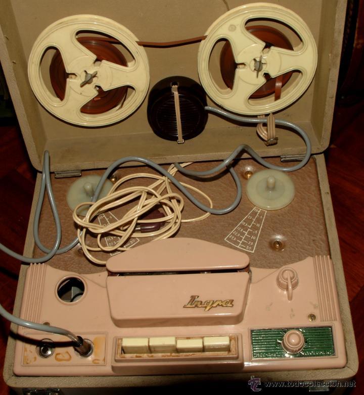 MAGNETÓFONO INGRA (Radios, Gramófonos, Grabadoras y Otros - Gramófonos y Gramolas)