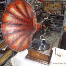 Gramófonos y gramolas: GRAMOFONO LA VOZ DE SU AMO. Lote 45501991