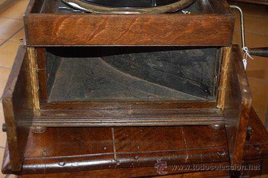 Gramófonos y gramolas: Gramola DULCETTO made in england, siglo XX - Foto 3 - 47292595
