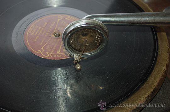 Gramófonos y gramolas: Gramola DULCETTO made in england, siglo XX - Foto 4 - 47292595