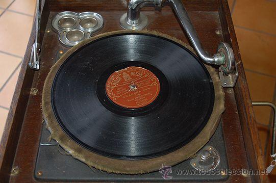 Gramófonos y gramolas: Gramola DULCETTO made in england, siglo XX - Foto 6 - 47292595