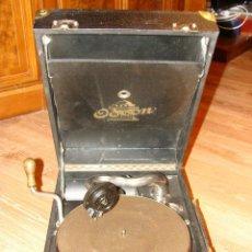 Gramófonos y gramolas: GRAMOFONO GRAMOLA ODEON AÑOS 30-40. Lote 47562718