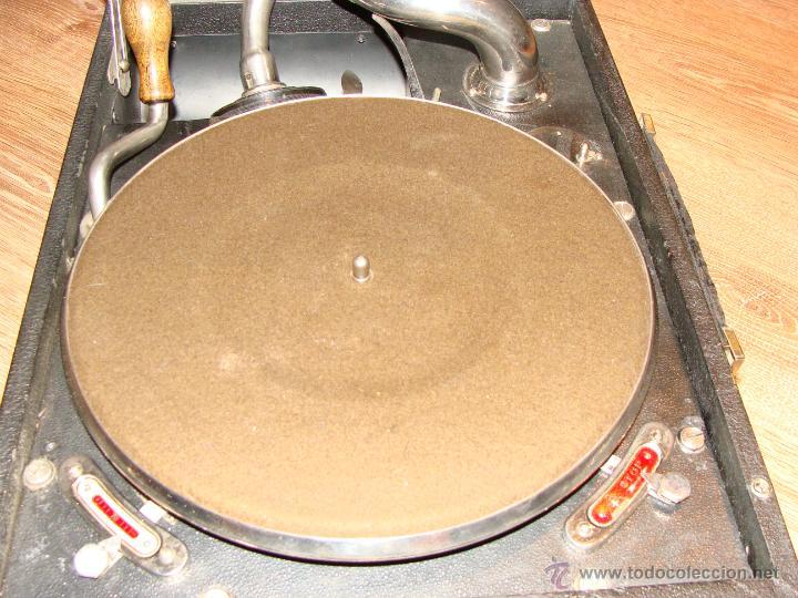 Gramófonos y gramolas: Gramofono Gramola Odeon años 30-40 - Foto 3 - 47562718